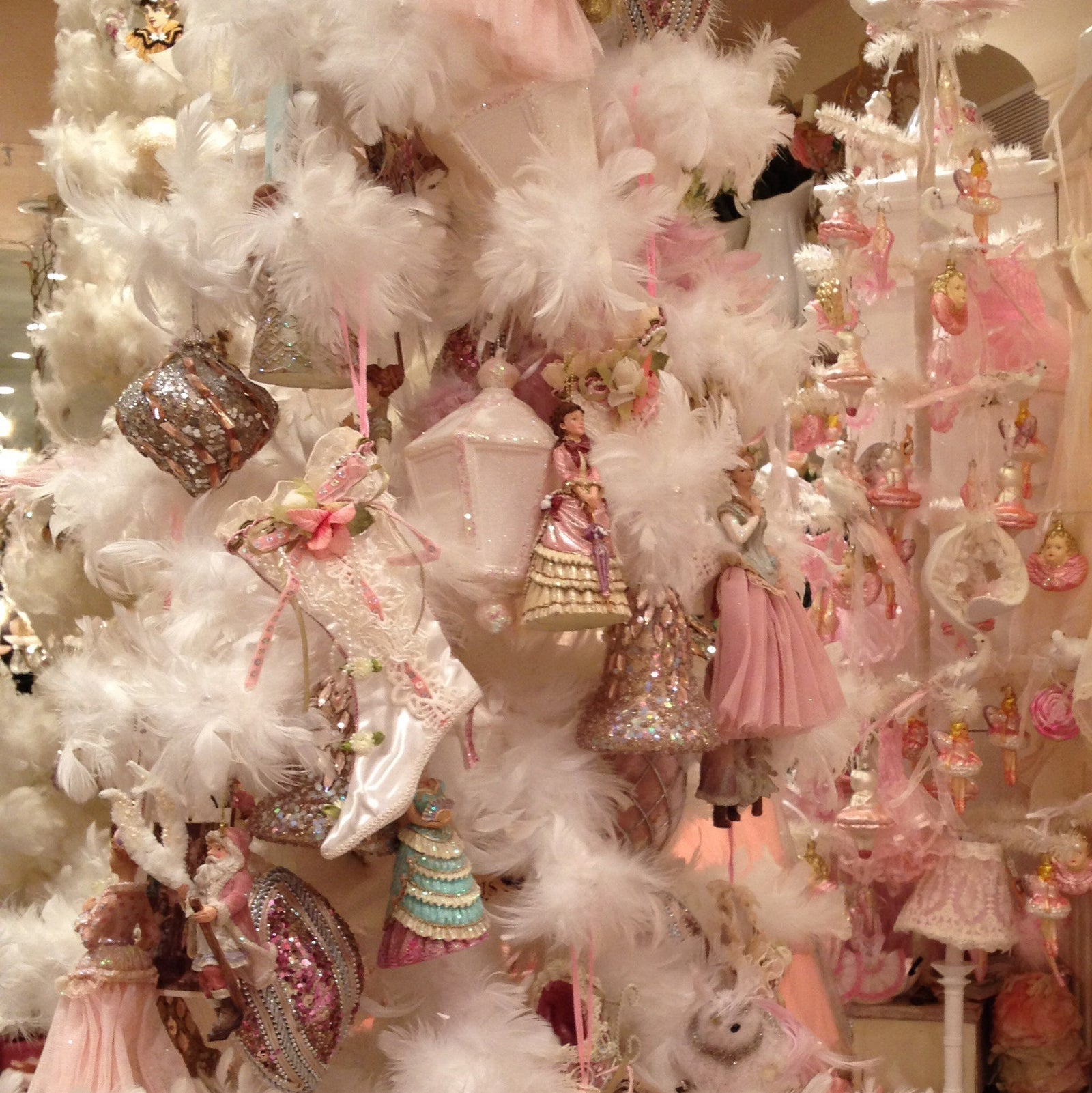 Victorian Christmas Tree.Victorian Christmas Decorations Putti Fine Furnishings
