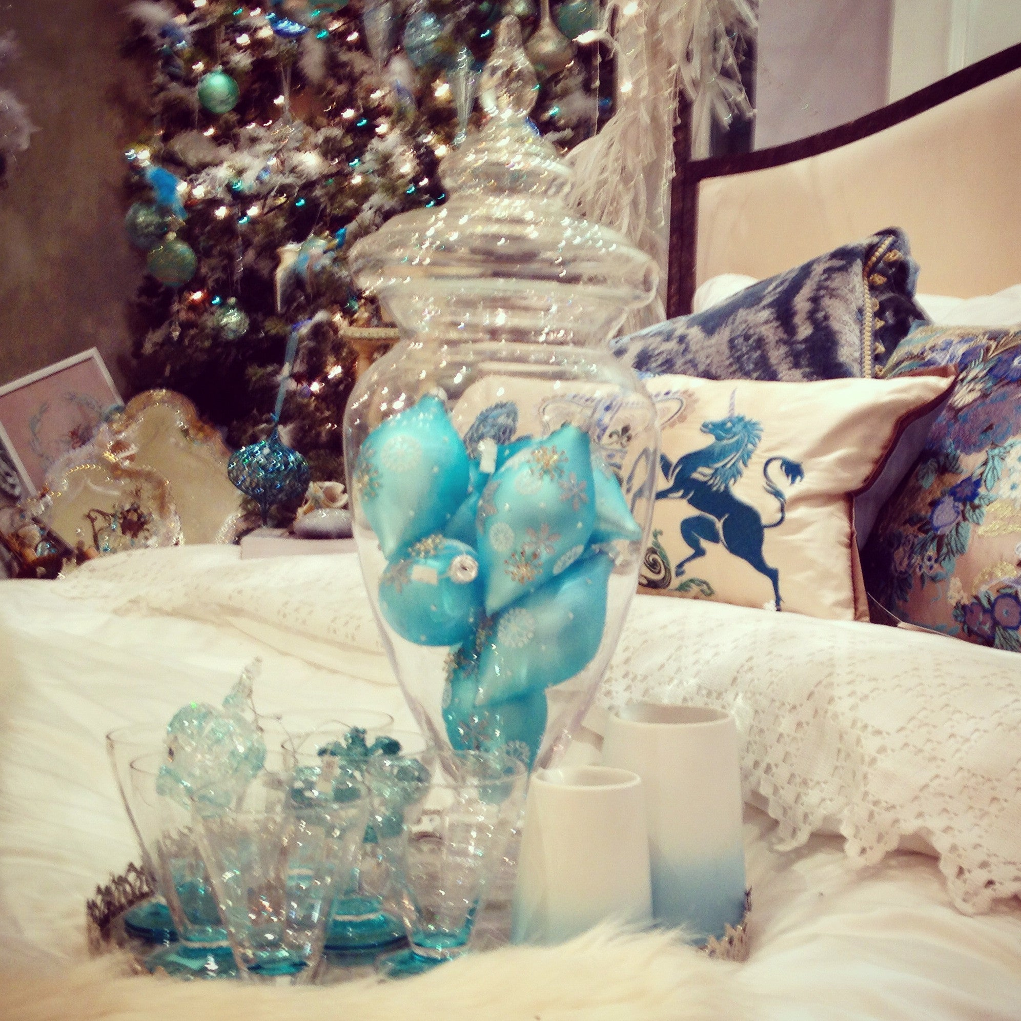 Ice Blue Christmas