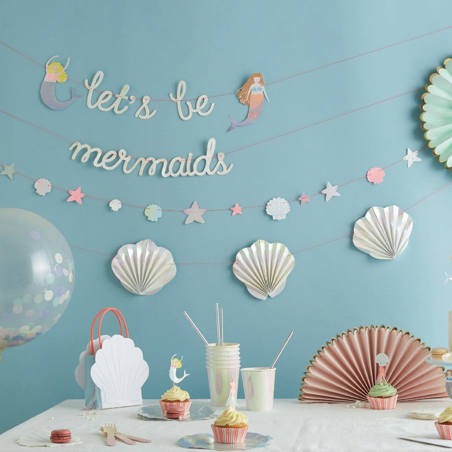 """Let's be Mermaids"" Party"