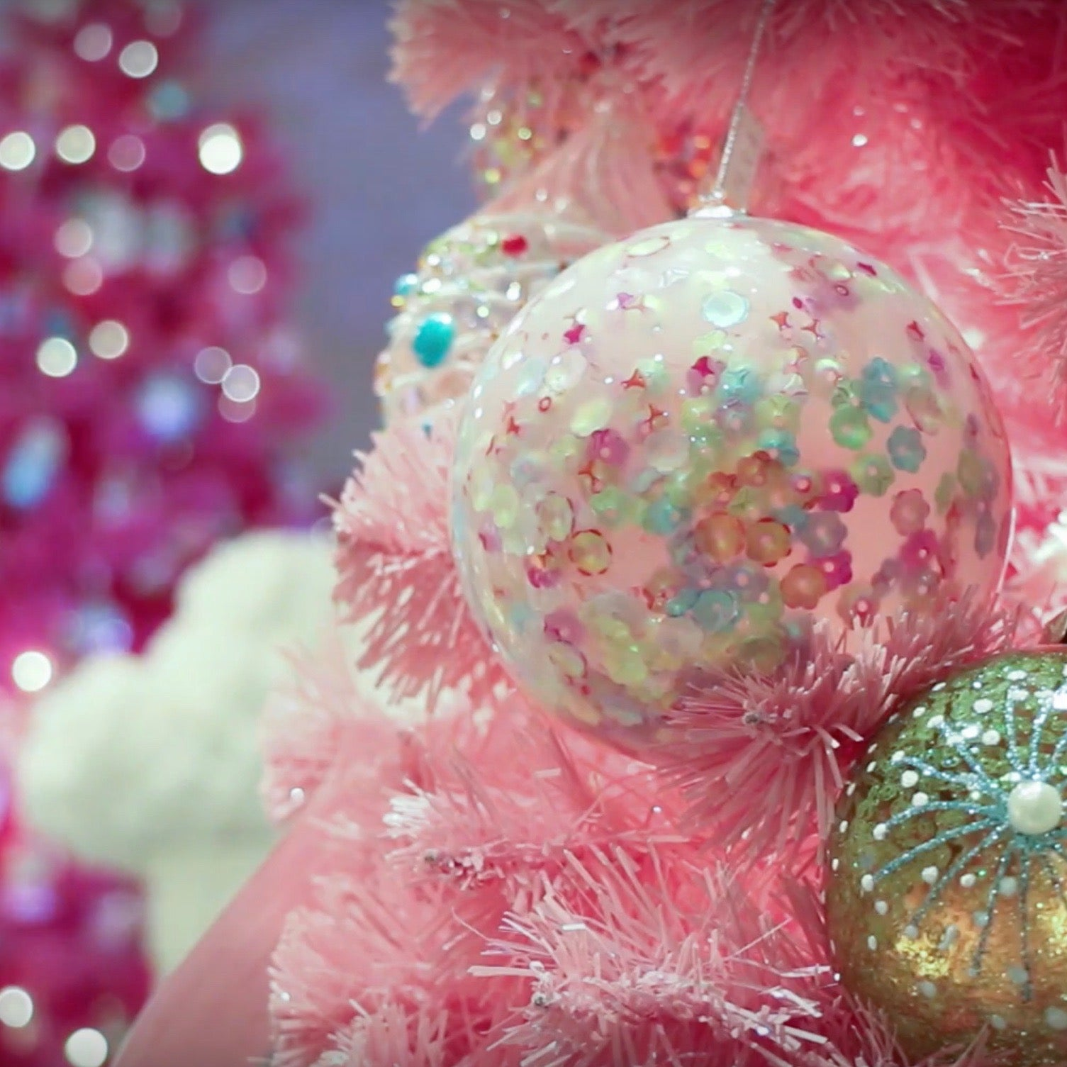 I'm Dreaming of a ... Pink Christmas!