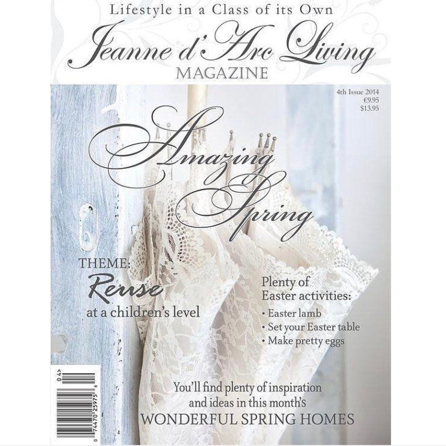Jeanne d'Arc Living Magazine Back Issues 50% off Sale