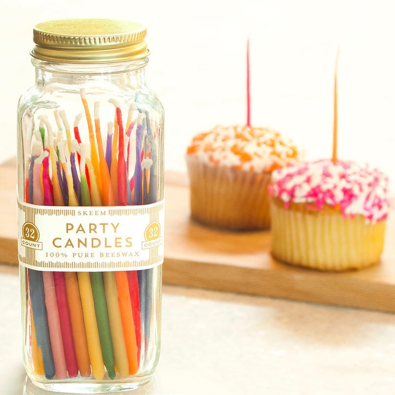 Hand Dipped Party Candles