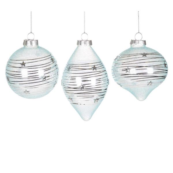 Glass Christmas Ornaments & Decorations