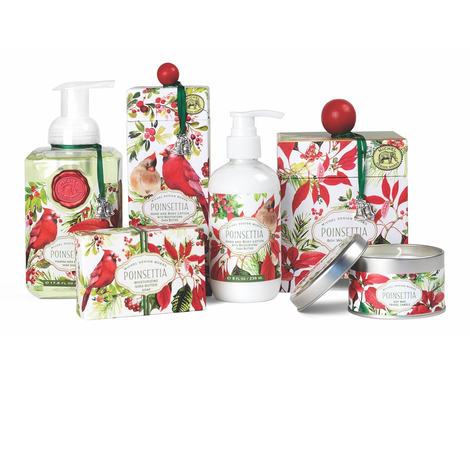 Michel Design Works Poinsettia Collection