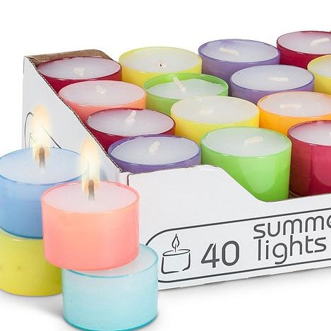 Tea Lights and Holders 50% off Sale