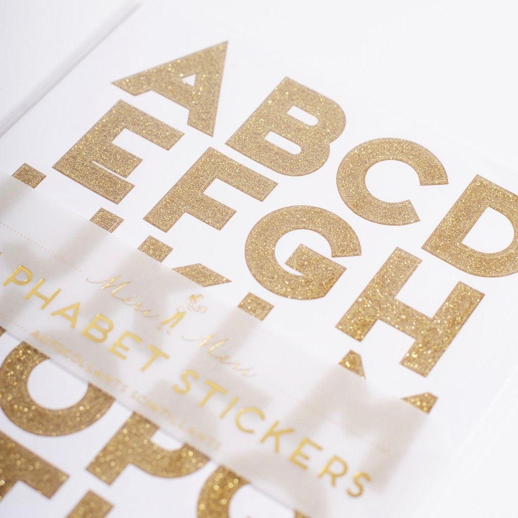 Alphabet Sticker Sets