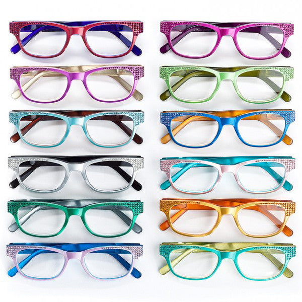 Jimmy Crystal Birthstone Reading Glasses