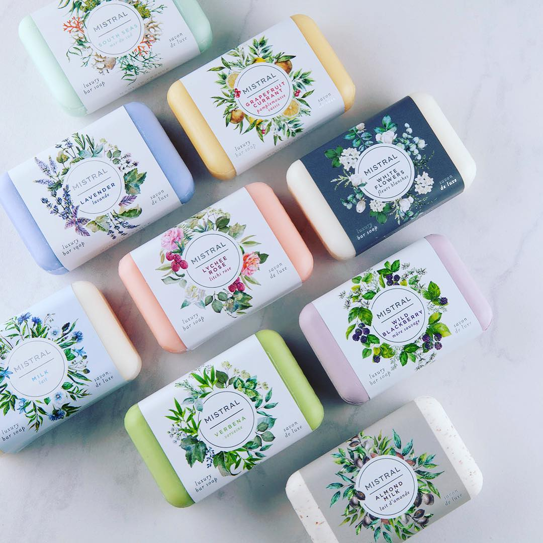 Classic French Soap Collection