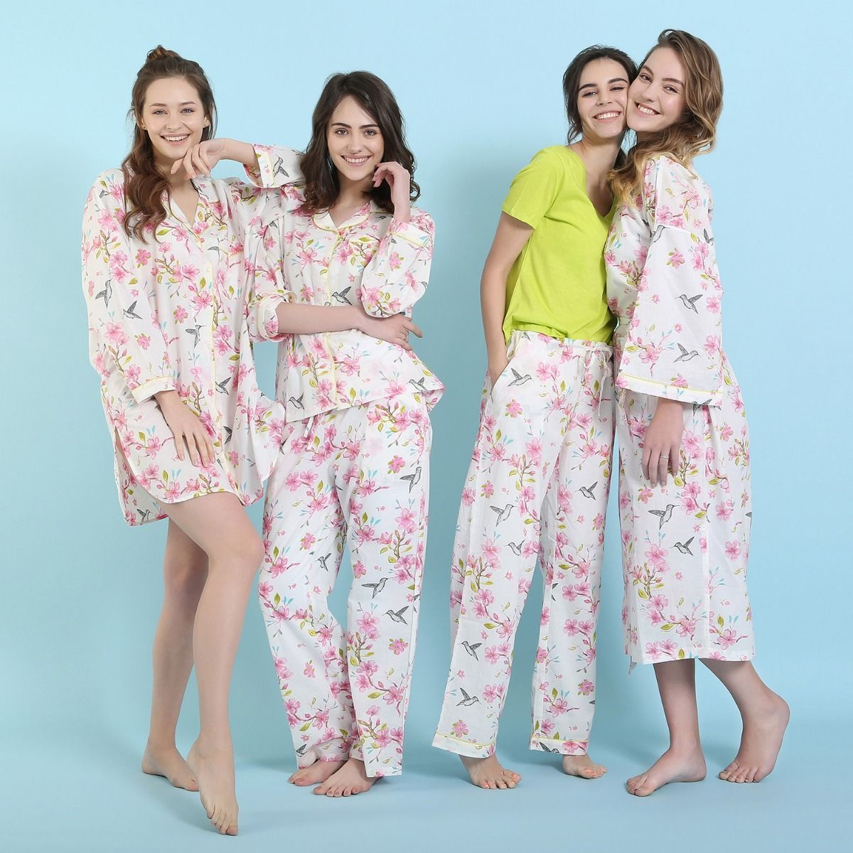 """Cherry Blossom"" Sleepware Collection"