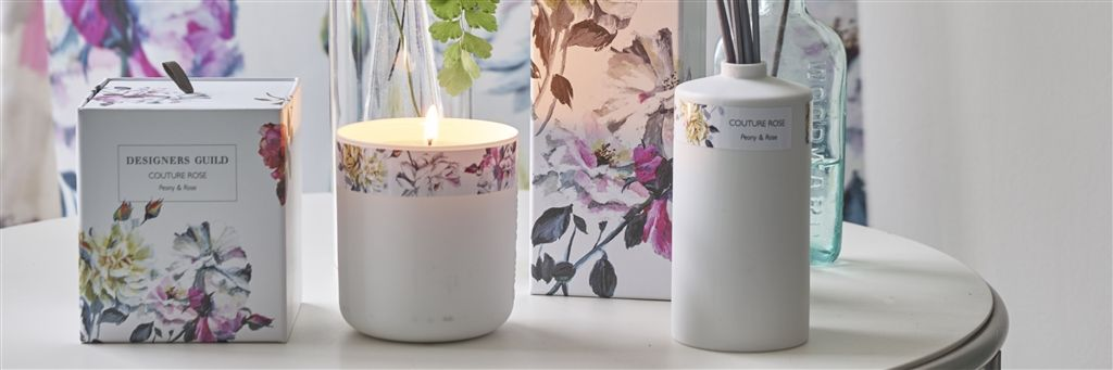 A New Addition To The Ever Expanding Collection Of Home Accessories From Designers  Guild Is The Beautiful Range Of Scented Candles And Diffusers.