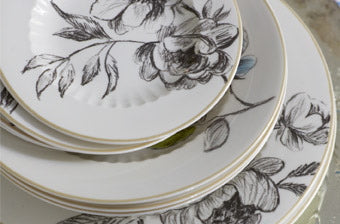 Add Unique Style To Your Table Setting With This Watelet China Dinner  Service By Designers Guild. An Exquisite Collection Of Elegantly Classical  Fine China ...