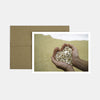 Hand Full of Sand Heart Birthday Card, JE-Jannex Enterprises, Putti Fine Furnishings