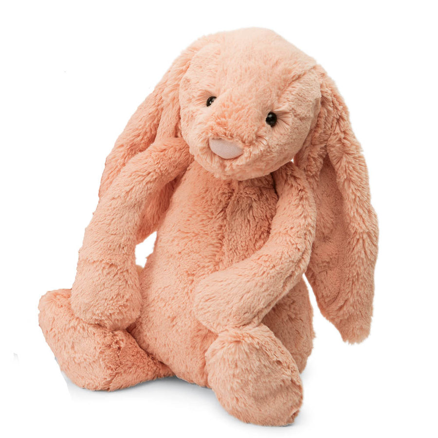 Jellycat - Bashfull Bunny Peach - Large, JC-Jellycat UK, Putti Fine Furnishings