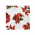 "Botanical ""Poinsettia"" Lunch Paper Napkin"