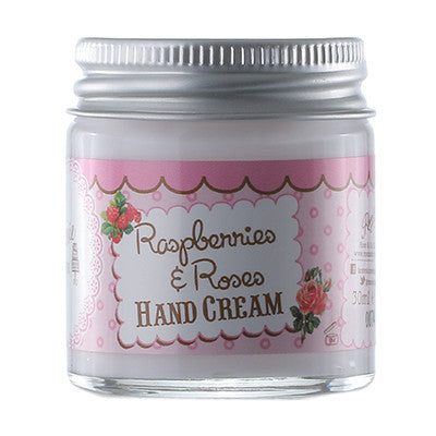 """Patisseries de Bain"" Raspberries & Roses Hand Cream-Bath Products-Rose & Co-Putti Fine Furnishings"