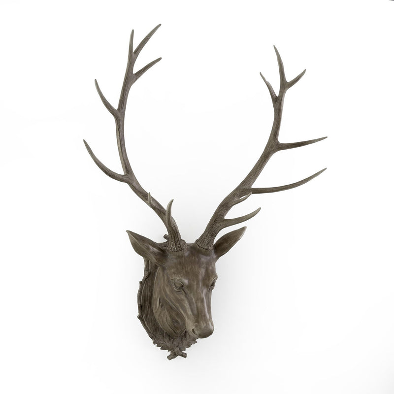 Stag Head with Shield
