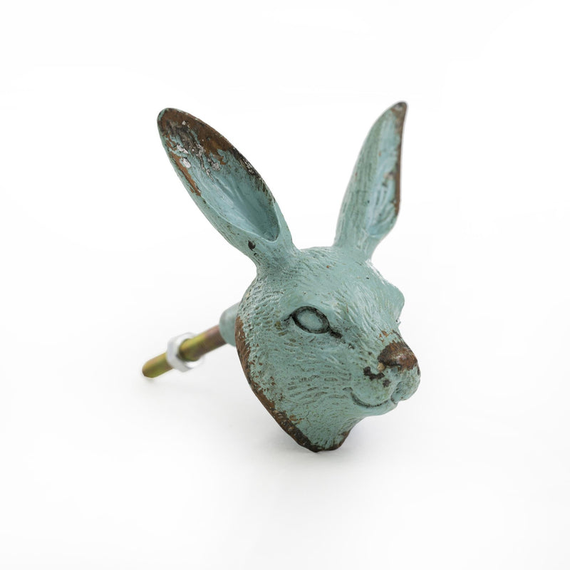Green Rabbit Knob | Putti Fine Furnishings Canada