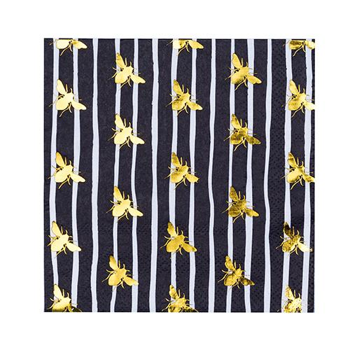 Jollity & Co. Hey Bae-Bee Paper Cocktail Napkins | Putti Party Supplies