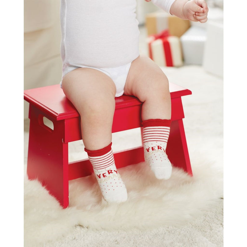 "Mud Pie ""Very Merry"" Socks, MP-Mud Pie, Putti Fine Furnishings"