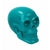 Skeleton Crew Skull Centerpiece - Teal