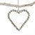 Diamond Heart Ornament