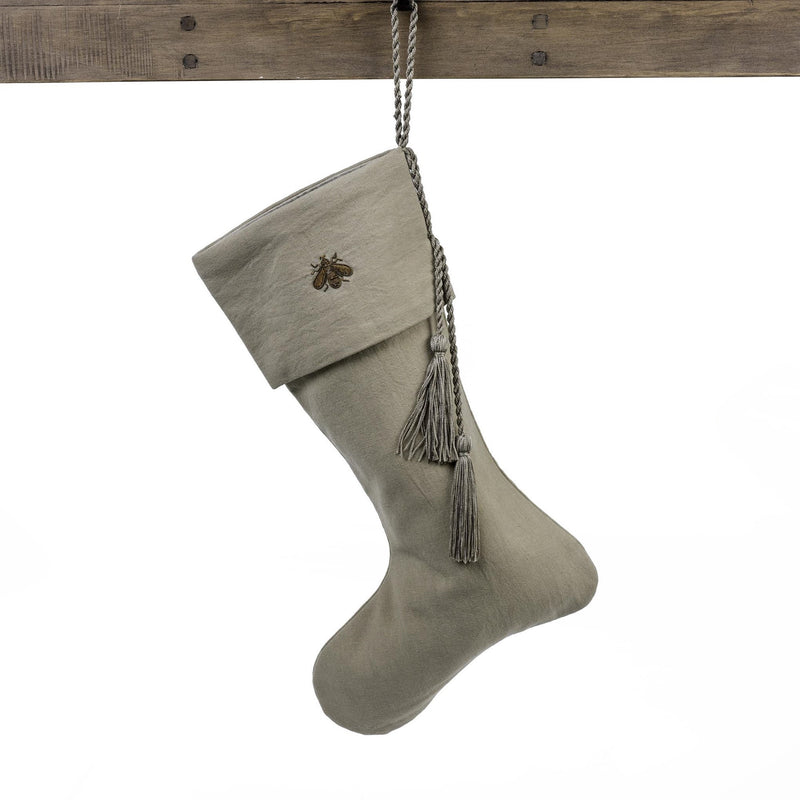 Gilded Bee Linen Stocking, IT-Indaba Trading, Putti Fine Furnishings