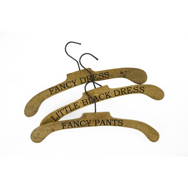 "Set of 3 ""Fancy"" Coat Hangers-Accessories-IT-Indaba Trading-Putti Fine Furnishings"