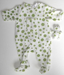 Spotted Frog Sleeper -  Onzies - Empress Arts - Putti Fine Furnishings Toronto Canada