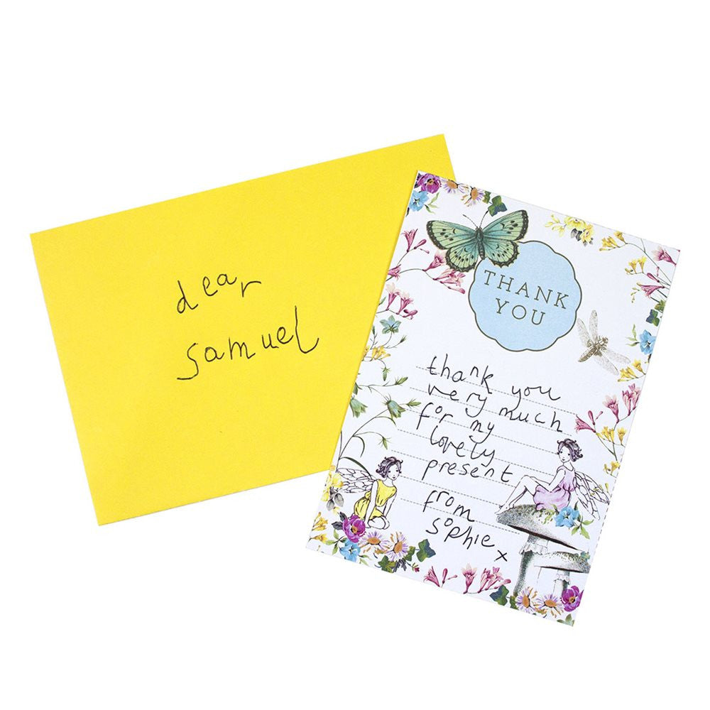 graphic relating to Printable Thank You Cards Free referred to as Definitely Fairy\