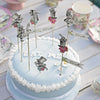 Truly Alice Mad Party Picks -  Party Supplies - Talking Tables - Putti Fine Furnishings Toronto Canada - 4