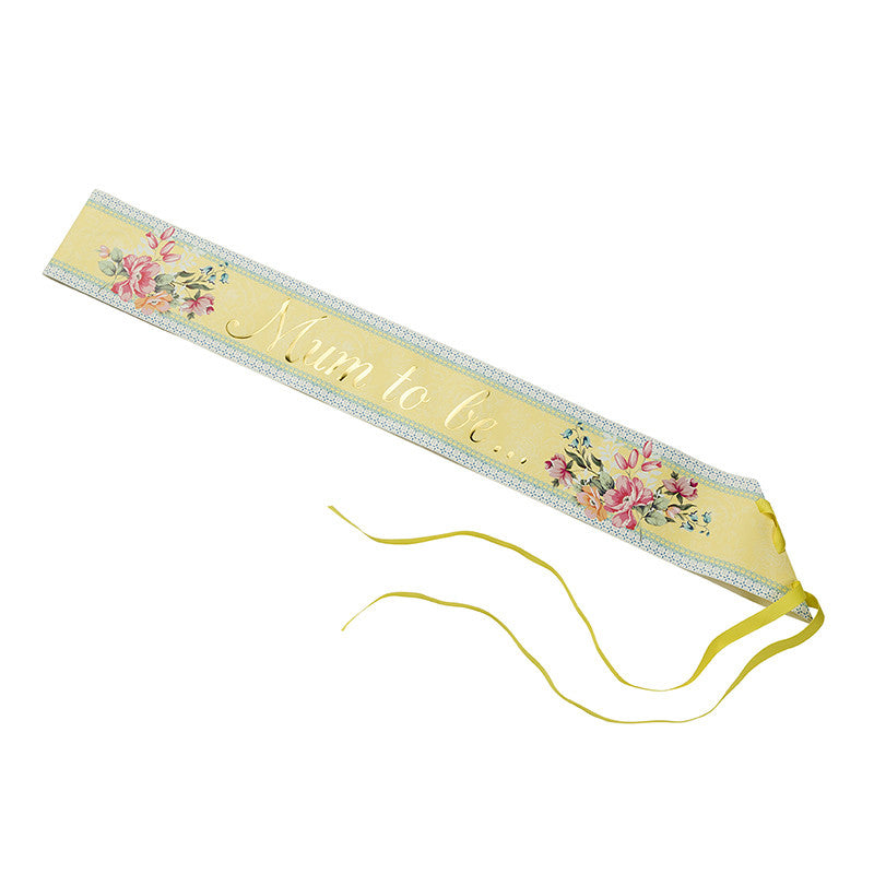 "Truly Baby ""Mum to Be"" Sash-Party Supplies-TT-Talking Tables-Putti Fine Furnishings"