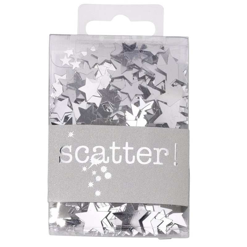 Simply Silver Star Scatter