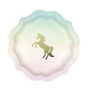 "Arriving Soon! ""We Heart Unicorns"" Paper Plates -  Party Decorations - Talking Tables - Putti Fine Furnishings Toronto Canada"