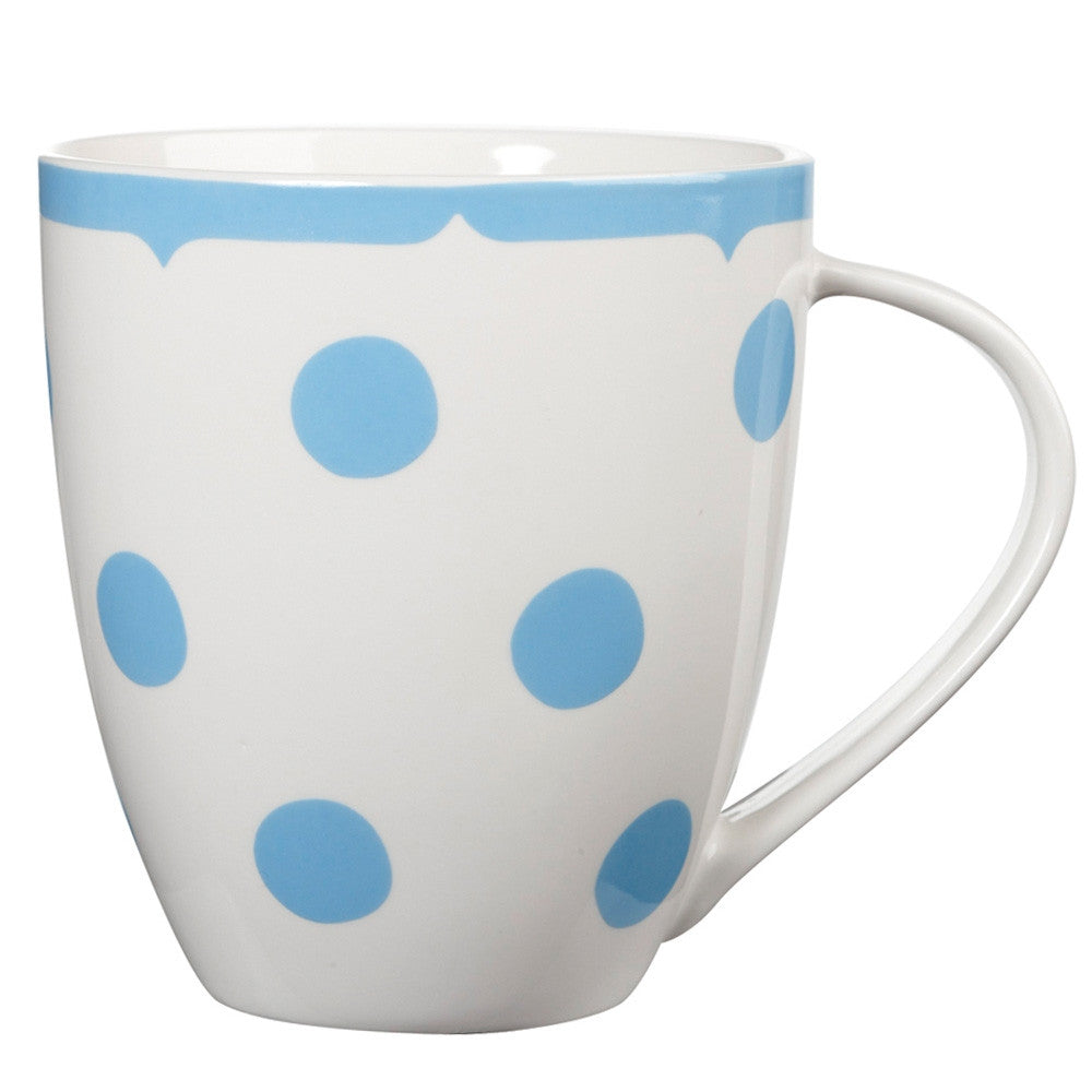 Cath Kidson Dottie Blue Mug, JLB-J L Bradshaws, Putti Fine Furnishings