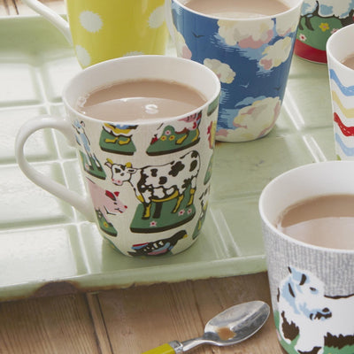 Cath Kidson Home Farm Mug, JLB-J L Bradshaws, Putti Fine Furnishings
