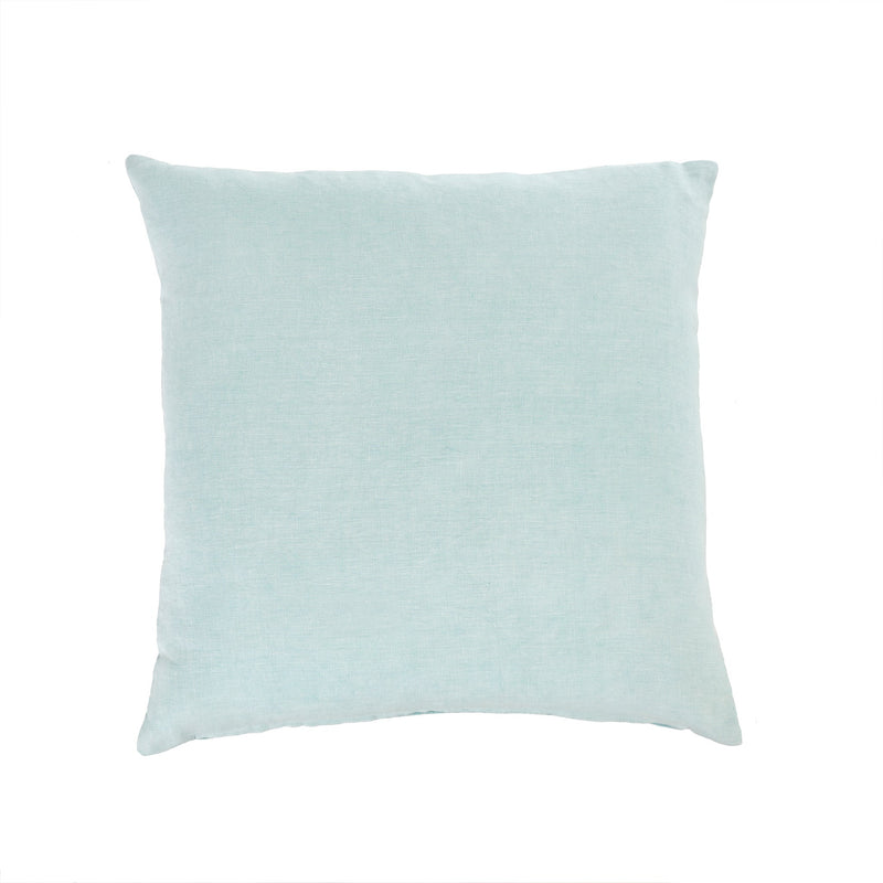 Nala Linen Cushion - Aqua | Putti Fine Furnishings Canada
