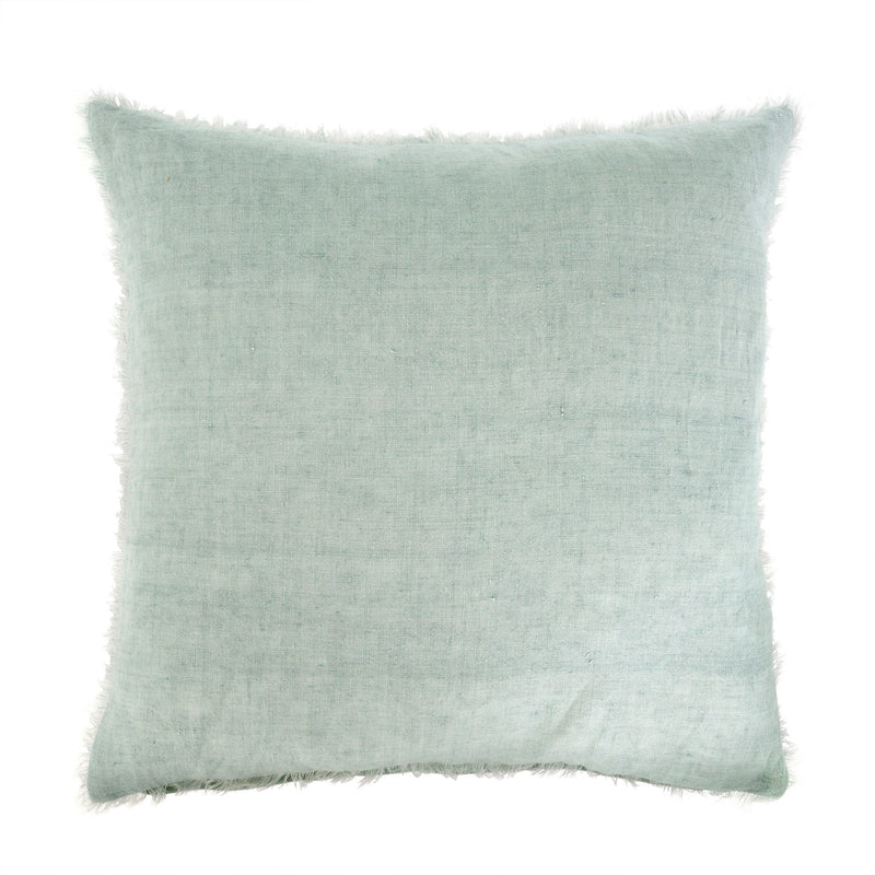 Lina Linen Pillow - Mint