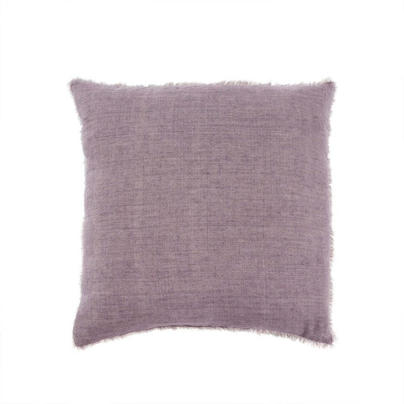 Lina Linen Pillow - Heather | Putti Fine Furnishings Canada
