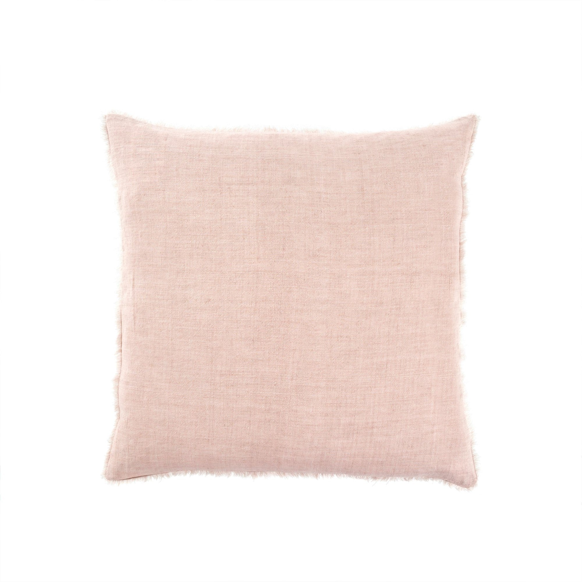 Lina Linen Pillow - Dusty Rose | Putti Fine Furnishings