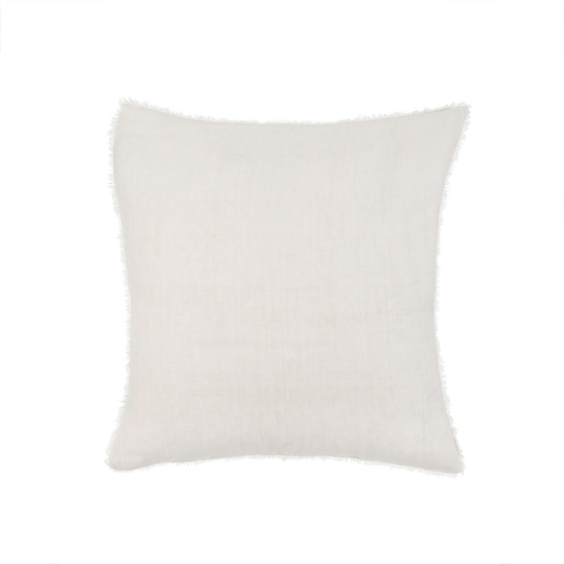 Lina Linen Pillow - Natural | Putti Fine Furnishings Canada