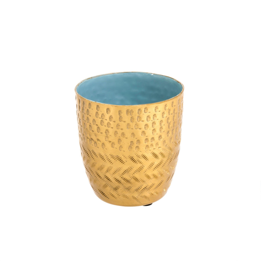 Hammered Cup - Skye Blue