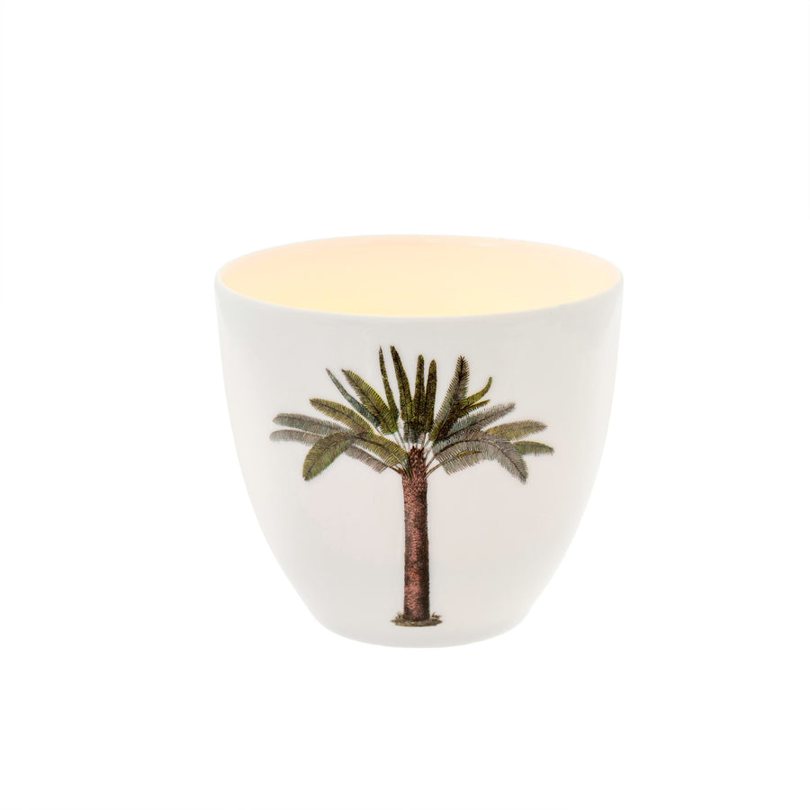 Ceramic Palm Tree Votive
