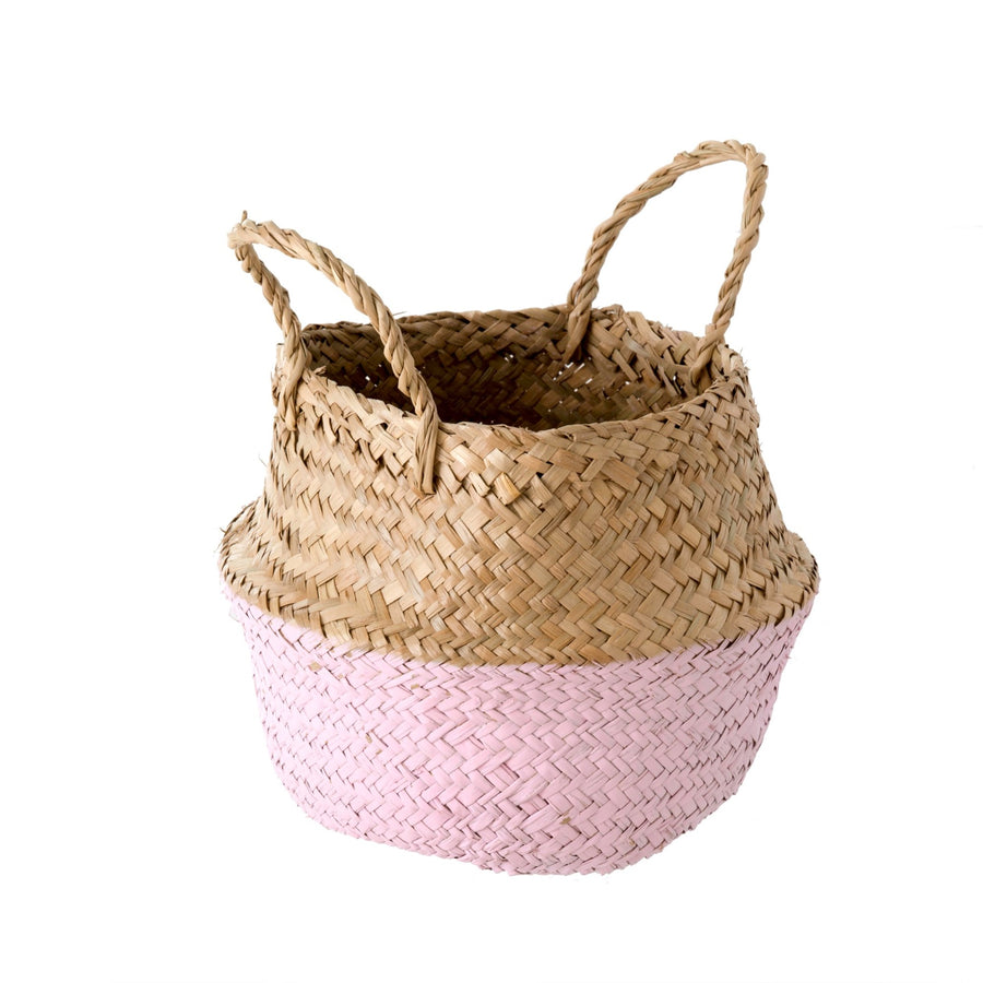 Pink Dip Baby Belly Basket