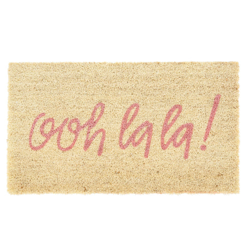 """ooh la la"" Pink Doormat, IT-Indaba Trading, Putti Fine Furnishings"