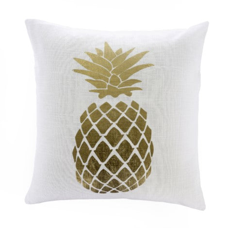 Gold Pineapple Cushion