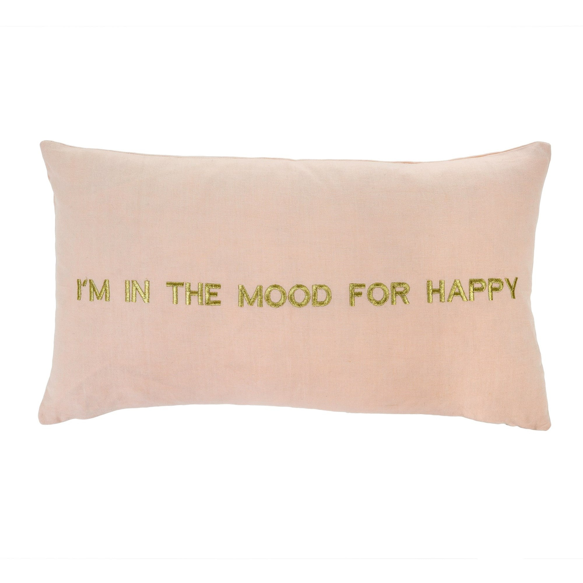 """Im in the mood for happy"" Cushion, IT-Indaba Trading, Putti Fine Furnishings"