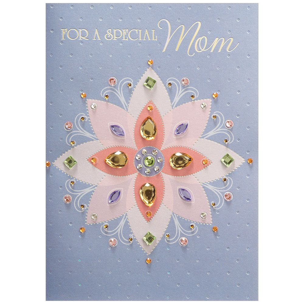 Prism Flower Mother's Day Greeting Card, DD-Design Design Greeting Cards, Putti Fine Furnishings
