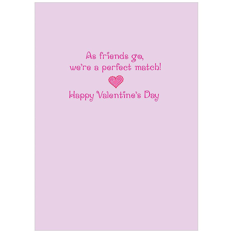 Friendship Flip Flops Valentine Card