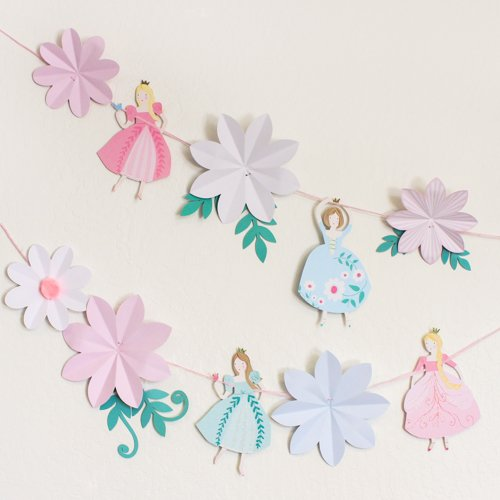 "Meri Meri ""I'm a Princess"" Flower Garland"
