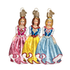 Old Word Christmas Princess Glass Ornament, OWC-Old World Christmas, Putti Fine Furnishings